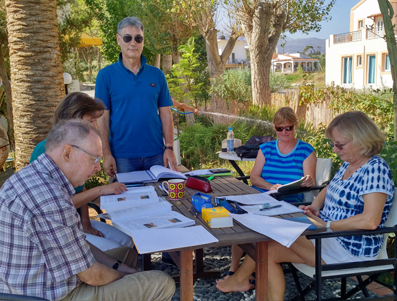 greek language courses in crete